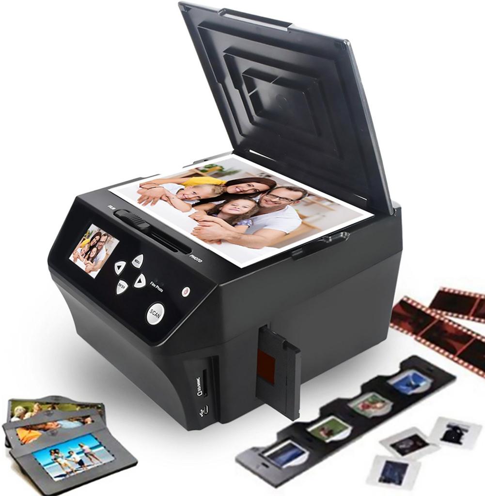 Fotoscanner til Papir-, lysbilleder og negativer
