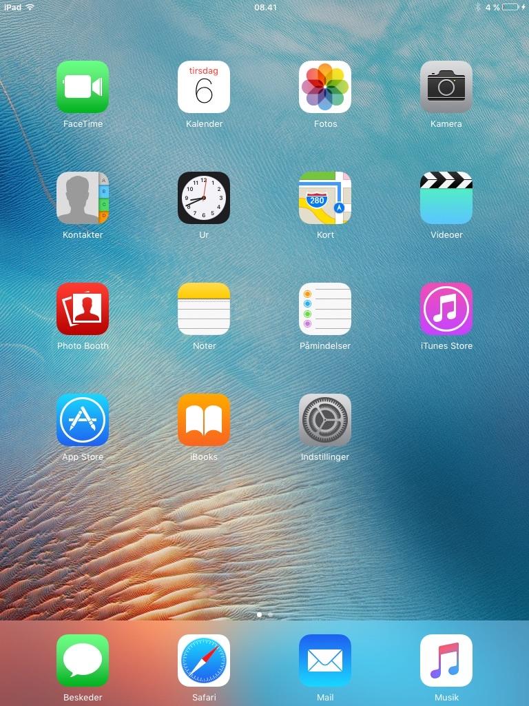 Apple iPad - iOS 9.3.5