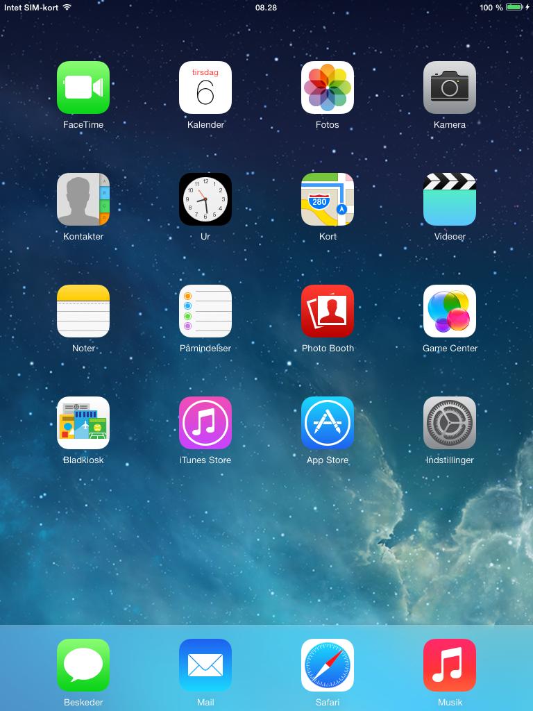 Apple iPad - iOS 7.0.4